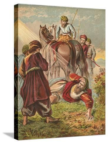 Conversion of Saul-English School-Stretched Canvas Print