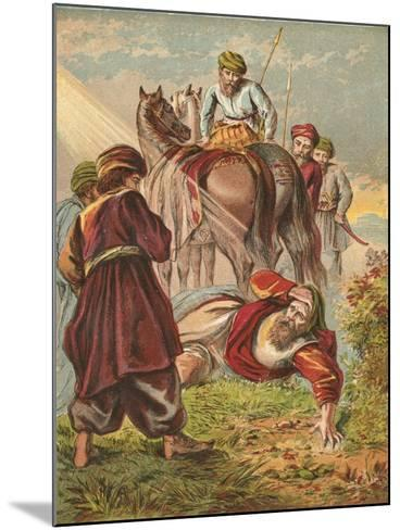 Conversion of Saul-English School-Mounted Giclee Print