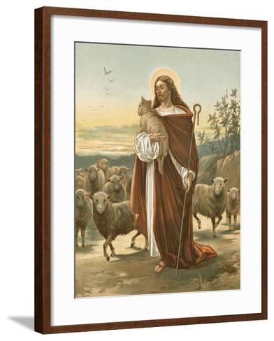 The Good Shepherd-John Lawson-Framed Art Print
