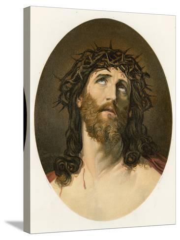 Ecce Homo-Guido Reni-Stretched Canvas Print