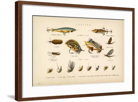 Angling-English School-Framed Art Print