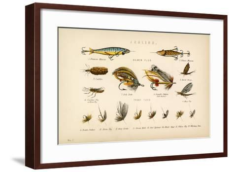 Angling-English School-Framed Art Print