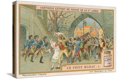 Le Petit Marat-European School-Stretched Canvas Print