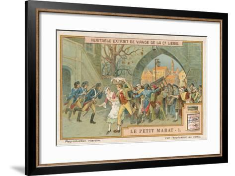 Le Petit Marat-European School-Framed Art Print
