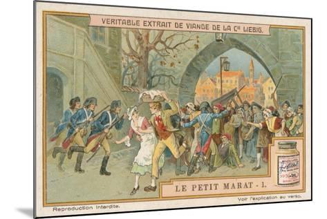 Le Petit Marat-European School-Mounted Giclee Print