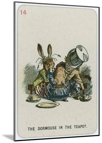 The Dormouse in the Teapot-John Tenniel-Mounted Giclee Print