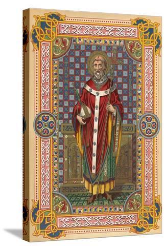 St Thomas-English School-Stretched Canvas Print