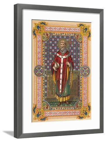 St Thomas-English School-Framed Art Print