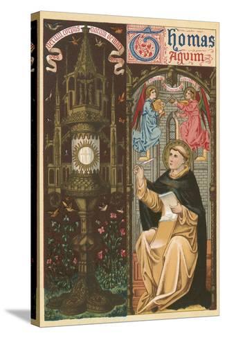 St Thomas Aquinas-English School-Stretched Canvas Print