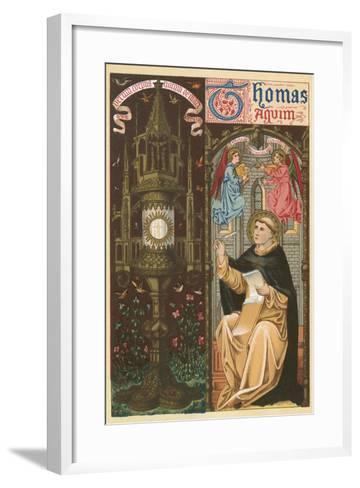 St Thomas Aquinas-English School-Framed Art Print