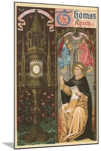 St Thomas Aquinas-English School-Mounted Giclee Print