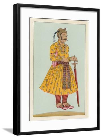 India Costume-French School-Framed Art Print