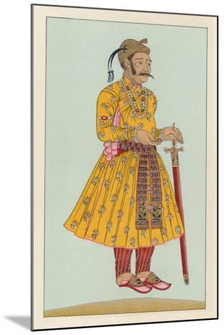 India Costume-French School-Mounted Giclee Print