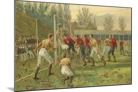 Goal-Thomas Marie Madawaska Hemy-Mounted Giclee Print