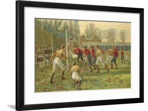 Goal-Thomas Marie Madawaska Hemy-Framed Art Print