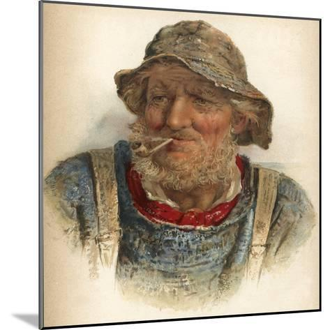An Old Salt-James Drummond-Mounted Giclee Print