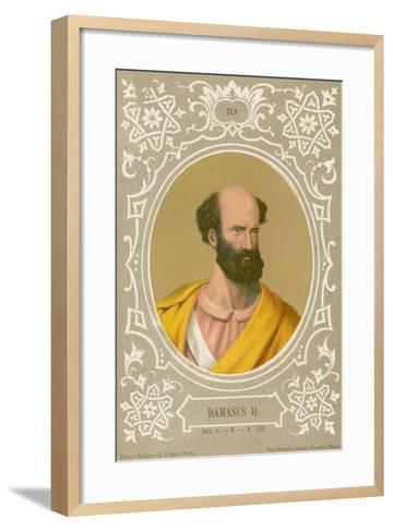 Damasus II-European School-Framed Art Print