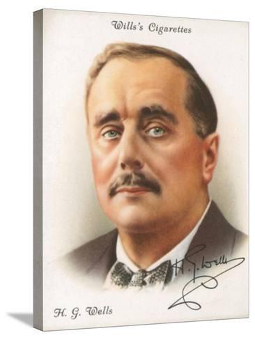 H. G. Wells-English School-Stretched Canvas Print