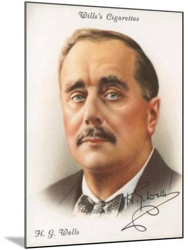H. G. Wells-English School-Mounted Giclee Print