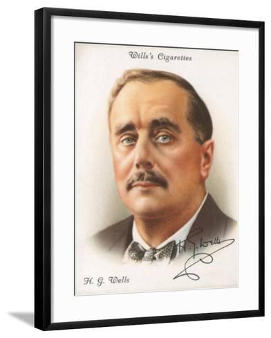 H. G. Wells-English School-Framed Art Print