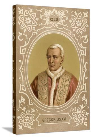 Gregorius XVI-European School-Stretched Canvas Print