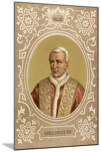 Gregorius XVI-European School-Mounted Giclee Print