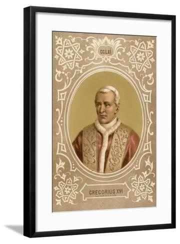 Gregorius XVI-European School-Framed Art Print