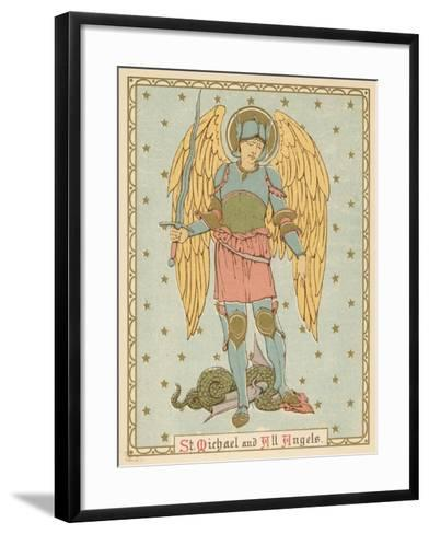 St Michael and All Angels-English School-Framed Art Print