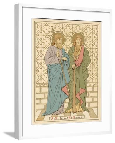 St Philip and St James-English School-Framed Art Print