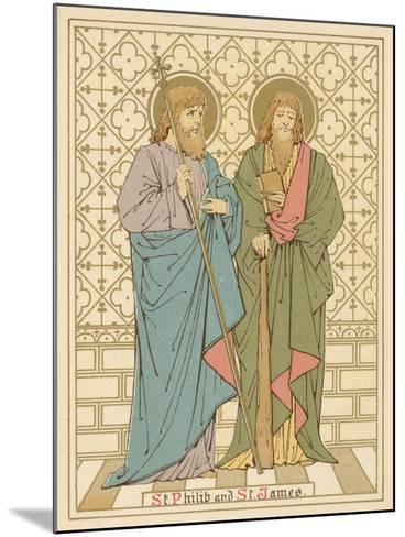 St Philip and St James-English School-Mounted Giclee Print