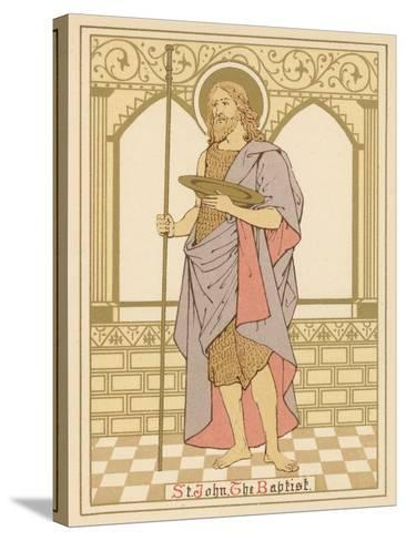 St John the Baptist-English School-Stretched Canvas Print