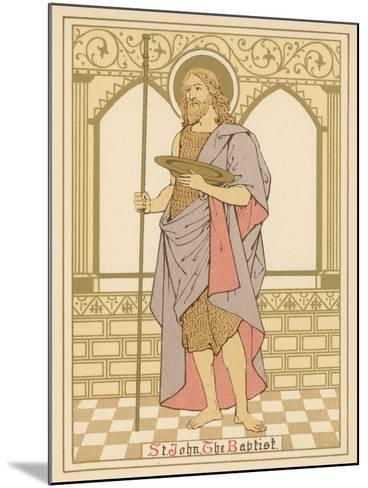 St John the Baptist-English School-Mounted Giclee Print
