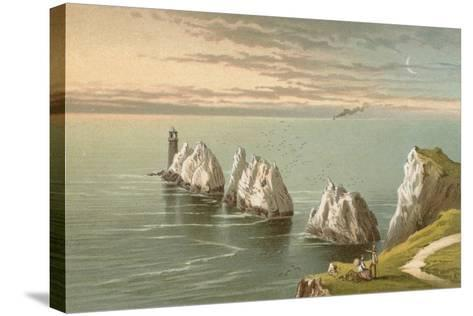 The Needles - Isle of Wight-English School-Stretched Canvas Print