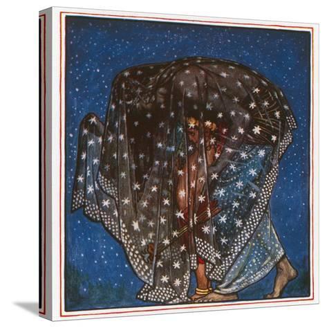 Sleep-John Byam Liston Shaw-Stretched Canvas Print