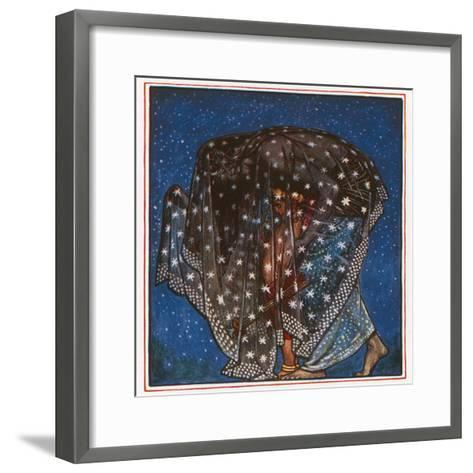 Sleep-John Byam Liston Shaw-Framed Art Print