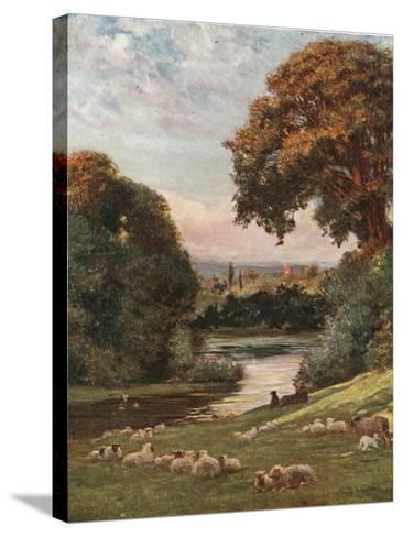 Prior Park, Bath-Francis S. Walker-Stretched Canvas Print
