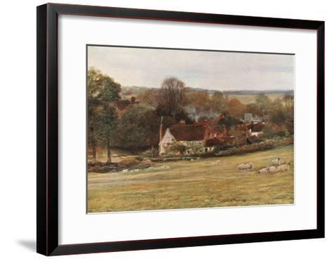 Milton's Cottage and Garden, Chalfont St Giles-Francis S. Walker-Framed Art Print