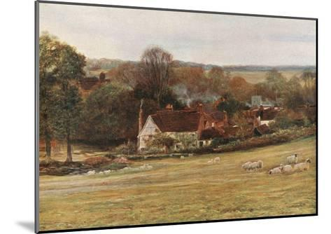 Milton's Cottage and Garden, Chalfont St Giles-Francis S. Walker-Mounted Giclee Print