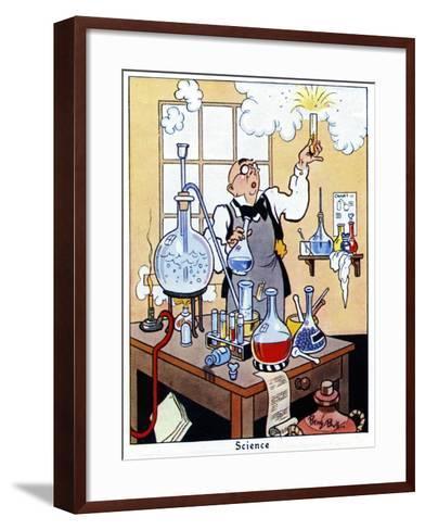 Science, 1936-René Bull-Framed Art Print