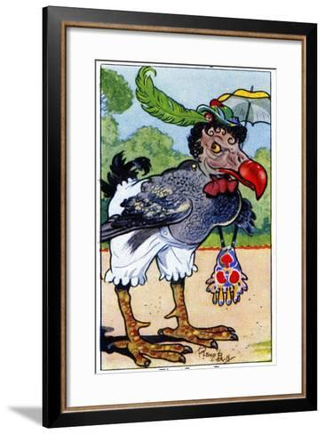 The Dodo, 1936-René Bull-Framed Art Print