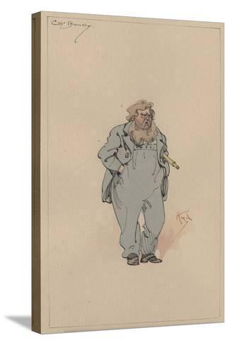 Captain Jack Bunsby, c.1920s-Joseph Clayton Clarke-Stretched Canvas Print