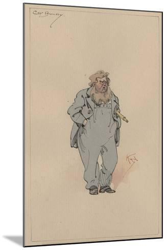 Captain Jack Bunsby, c.1920s-Joseph Clayton Clarke-Mounted Giclee Print