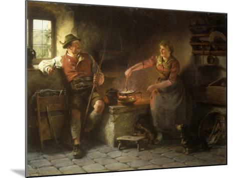In the Kitchen, 1901-Hugo Wilhelm Kauffman-Mounted Giclee Print
