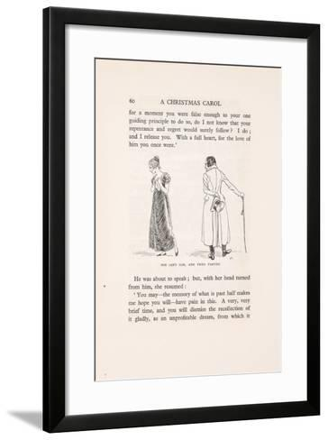 'She Left Him, and They Parted', 1915-Arthur Rackham-Framed Art Print