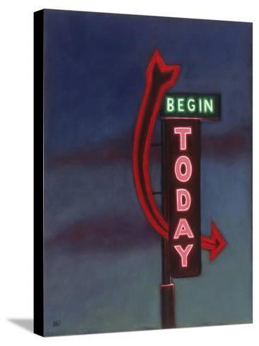 Begin Today, 2009-David Arsenault-Stretched Canvas Print
