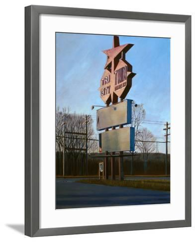 Signs of the Times, 1996-David Arsenault-Framed Art Print