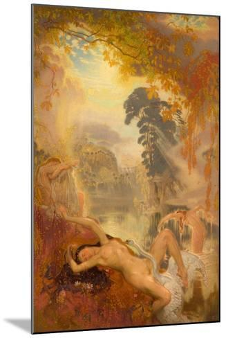 Leda and the Swan, 1928-William Shackleton-Mounted Giclee Print
