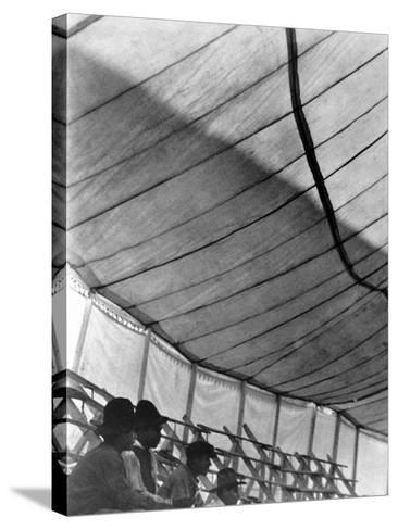Circus Tent (Gran Circo Ruso), Mexico City, 1924-Tina Modotti-Stretched Canvas Print