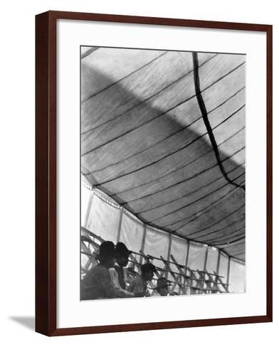 Circus Tent (Gran Circo Ruso), Mexico City, 1924-Tina Modotti-Framed Art Print