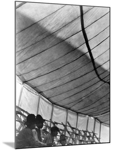 Circus Tent (Gran Circo Ruso), Mexico City, 1924-Tina Modotti-Mounted Photographic Print
